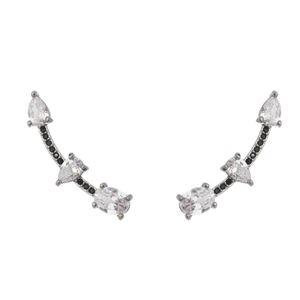 Imagem de Brinco ear cuff pedras zircônia - 0521437#