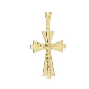 Imagem de Pingente cruz com Cristo - 0206754