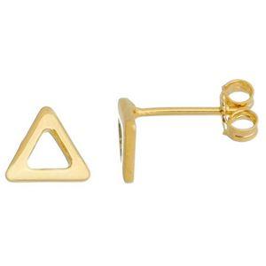 Imagem de Brinco triângulo vazado; 1cm - 0521762