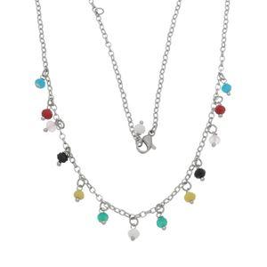 Imagem de Corrente com pedras coloridas - 0304489