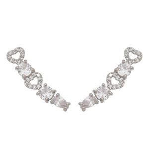 Imagem de Brinco ear cuff pedras zircônia - 0521815*