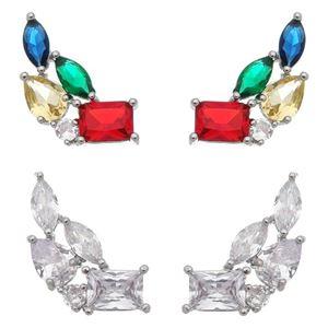 Imagem de Brinco ear cuff pedras zircônia - 0520676* Cores