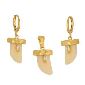Imagem de Conjunto dente bege e pedra zircônia - 1100864