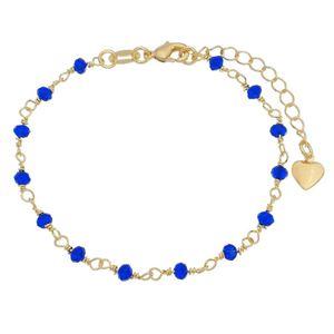 Imagem de Pulseira com pedras azul - 0405054