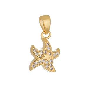 Imagem de Pingente estrela do mar pedras zircônia - 0206827