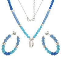 Imagem de Conjunto pedras azul e búzios - 1100903
