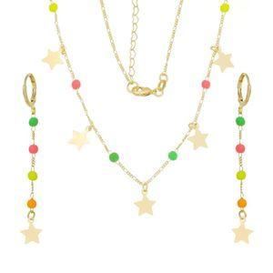 Imagem de Conjunto pedras coloridas neon - 1100904