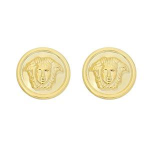 Imagem de Brinco moeda medusa - 0522208