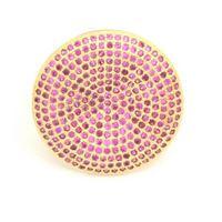 Imagem de Anel com micro zircônia - 0104869 Pink