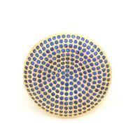 Imagem de Anel com micro zircônia - 0104869 Azul