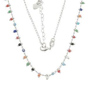 Imagem de Corrente com pedras coloridas - 0304651