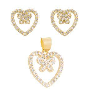 Imagem de Conjunto coração com borboleta - 1100920