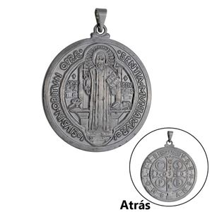 Imagem de Pingente medalha São Bento - 0206953