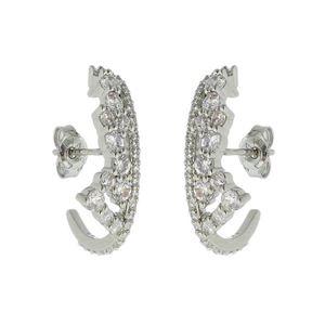 Imagem de Brinco ear hook com pedras zircônia - 0522560*