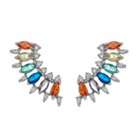 Imagem de Brinco ear cuff pedras coloridas - 0522558*