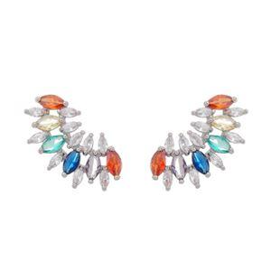 Imagem de Brinco ear cuff com pedras - 0523068* Cores