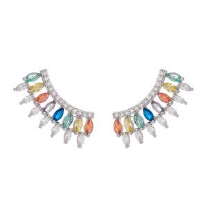 Imagem de Brinco ear cuff com pedras - 0523066* Cores