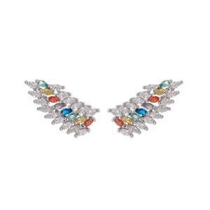 Imagem de Brinco ear cuff com pedras - 0523067 Cores