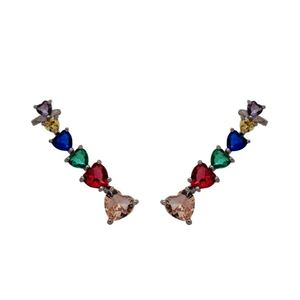 Imagem de Brinco ear cuff pedras coloridas - 0521544