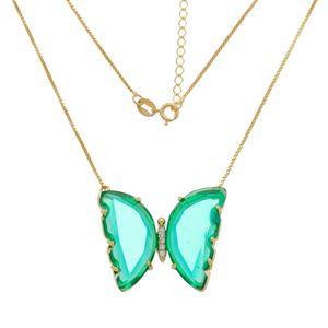 Imagem de Corrente borboleta com pedras - 0304986 Cores