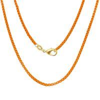 Imagem de Corrente veneziana laranja; 44cm - 0305086