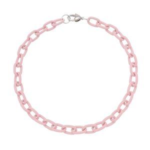 Imagem de Corrente cartier rosa claro; 45cm - 0305108