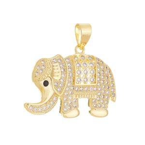 Imagem de Pingente elefante com zircônia - 0207108