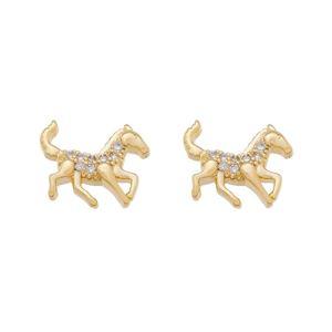 Imagem de Brinco cavalo pedras zircônia - 0523268