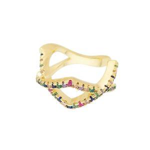 Imagem de Piercing pressão zircônia colorida - 0207099
