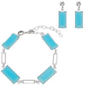 Imagem de Conjunto pedra retângulo azul - 1100976