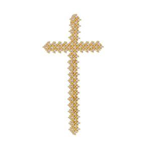 Imagem de Pingente cruz com pedras zircônia - 0207181