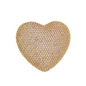 Imagem de Pingente coração pedras zircônia - 0207174