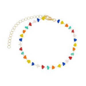 Imagem de Pulseira com pedras coloridas - 0405400