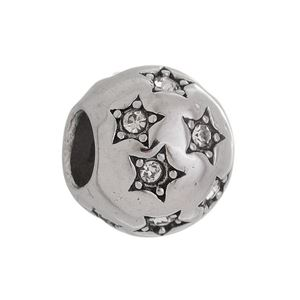 Imagem de Pingente berloque estrelas com zircônia - 0207202