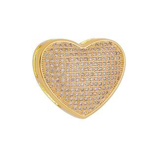 Imagem de Pingente coração com pedras zircônia - 0207188
