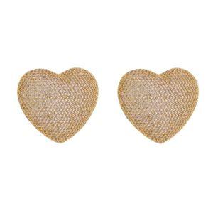 Imagem de Brinco coração pedras zircônia - 0522138