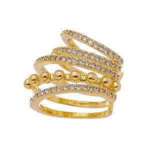 Imagem de Piercing fios com bolas e pedras - 0207170
