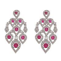 Imagem de Brinco com pedras natural pink - 0523572