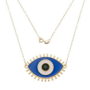 Imagem de Corrente olho grego resinado azul - 0305278