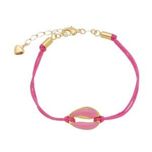Imagem de Pulseira fita pink com búzio - 0405443
