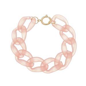 Imagem de Pulseira grumê 19m rosa claro - 0405457