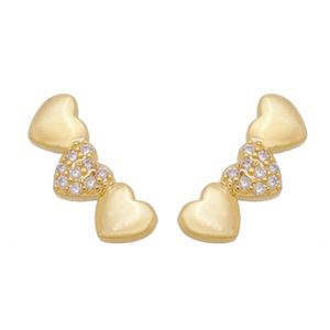 Imagem de Brinco ear cuff coração - 0523479