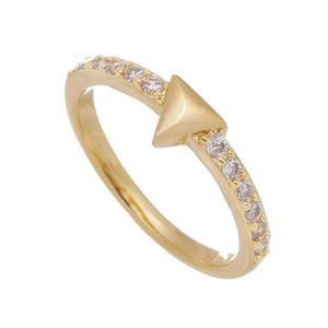 Imagem de Anel triângulo e pedras zircônia - 0106885