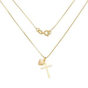 Imagem de Corrente com cruz e coração - 0305285