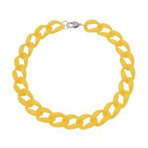 Imagem de Corrente grumê 19mm amarela - 0305382