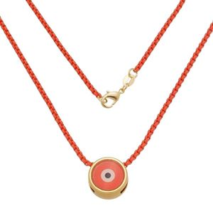 Imagem de Corrente laranja com olho grego - 0305360