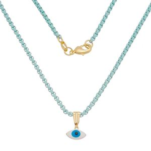Imagem de Corrente azul com olho grego - 0305362