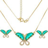 Imagem de Conjunto borboleta com pedra - 1101015 - Cores