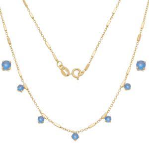 Imagem de Conjunto com pedras natural azul - 1101009
