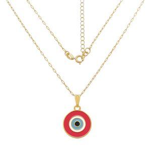 Imagem de Corrente olho grego rosa; 40cm - 0305127